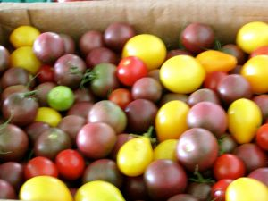 heirloom cherry tomatoes